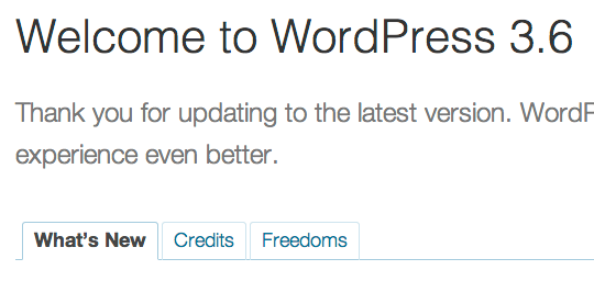 welcome-worpress-3.6